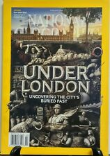National Geographic February 2016 Under London Buried Past FREE SHIPPING sb