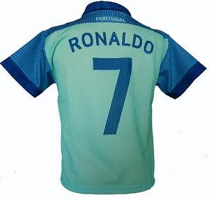 *KINDER FUSSBALL TRIKOT *RONALDO CR7  * PORTUGAL GRÜN*