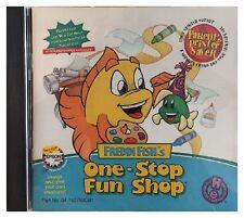 Freddi Fishs One Stop Fun Shop Pc Mac Brand New Sealed Free US Shipping