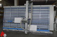 GMC Plattensäge stehend  Pegasus, ausweichender Lattenrost, mit Sägeblattpaket