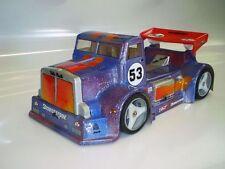 1/8 M-31 Truck RC Car Body clear Shell GTTraxxas Slash Ofna Hyper Gtp2e 0117
