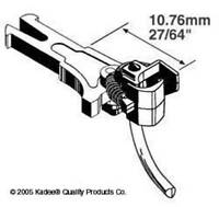 Kadee #19 Magnetic Knuckle Couplings European NEM 362 M Long 10.76mm x 2 Pairs 1