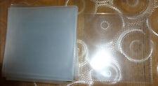 25 pochettes plastique transparentes pour CD / DVD / Bluray