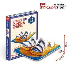 Puzzle 3D de LA ÓPERA DE SIDNEY CubicFun Rompecabezas 30 Piezas. j298
