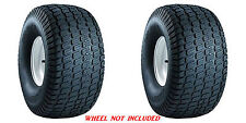 (TWO) 20x10-8 20x10.00-8 Carlisle Turf Master Tbls 4ply Rated Lawn Mower Tires
