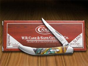 Case xx Toothpick Knife Slant Series Abalone Corelon 1/2500 S910096AB