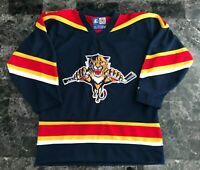STARTER NHL Florida Panthers Jersey Blue Size Boy's Small S - Boys Hockey Jersey
