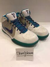 Nike Zoom Kobe IV 4 OG Release Discontinued 6-11-96 Charlotte Hornets Sz 11