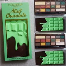 I heart chocolate mint chocolate eye shadow palette by makeup revolution