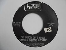 THE SPENCER DAVIS GROUP Gimme Some Lovin UNITED ARTISTS Mod Beat R&B Soul 45