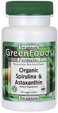 Organic Spirulina & Astaxanthin x 120 Veg Capsules ** AMAZING PRICE **
