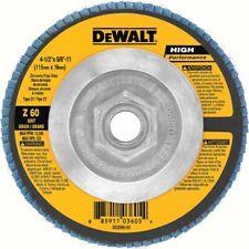 """DEWALT DW8312 4-1/2"""" x 5/8""""-11 60-Grit Type 29 HP Flap Disc"""