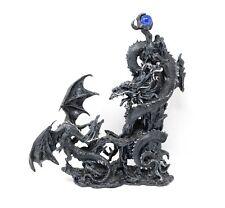 """PLASTOY 60438 /""""DRAGO cinese blu/"""" cm 17,5x7x10 h fantasy draghi"""