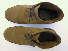 BASS TODD 10M Light Brown Suede Mens Casual Desert Boots $249 List!