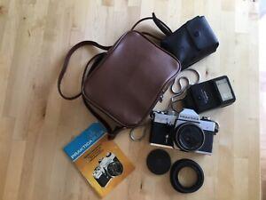 Practica PLC 2 , Fotoapparat mit Zubehör , Dachbodenfund!