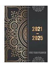 2021 2025 Planner 5 Year Monthly Calendar Organizer Journal