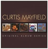 CURTIS MAYFIELD - ORIGINAL ALBUM SERIES 5 CD NEW+