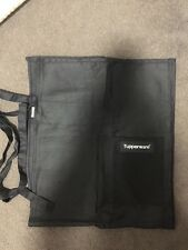 @@@ TUPPERWARE LARGE BLACK WRAP AROUND APRON @@@ ADULT SIZE @@@ NEW @@@ MUST C