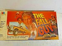 Vintage 1981 Milton Bradley THE FALL GUY  Board Game 99% Complete