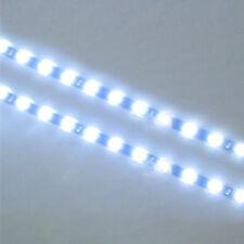 Waterproof Hot 2PC 12 LEDs 30cm 5050 SMD LED Strip Light Flexible 12V Car White