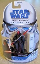 "Darth Maul ( 4"" ) Star Wars ( 2008 ) Rare Legacy Collection Action Figure Sl 14"