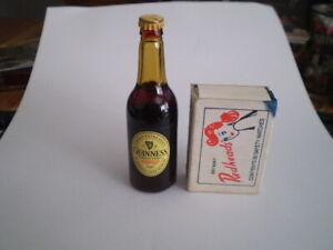 Miniature beer bottle  -  Guinness -   FREE POST AUSTRALIA