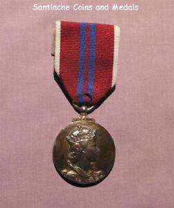 1953 OFFICIAL QUEEN ELIZABETH II CORONATION MEDAL - Original Example