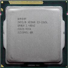 Intel Xeon Cpu E3-1265L 2.4GHz 45W LGA1155 E3 1265L Cpu Processor