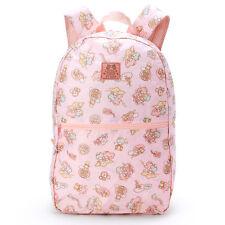 Little Twin Stars folding travel backpack JAPAN Brand-new 2016 Sanrio blue NWT