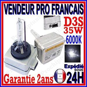 AMPOULE D3S XENON 35W 6000K SPECIAL POUR AUDI LAMPE HID FEU PHARE REMPLACEMENT