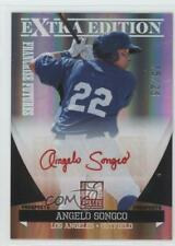 2011 Donruss Elite Extra Edition Red Ink /25 Angelo Songco #25 Auto