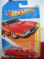 Hot Wheels '72 Ford Gran Torino Sport 2011 New Models Red