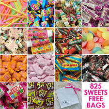 RETRO CANDY SWEETIE TABLE BUFFET BAR WEDDING PARTY BIRTHDAY 825 sweet +FREE BAGS
