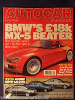 AUTOCAR Magazine 31st July 2002 BMW Z2