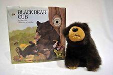 Black Bear Cub by Alan Lind Smithsonian Wild Heritage book and stuffed animal
