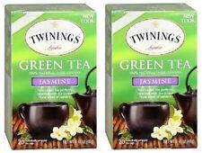 Twinings Of London Green Tea Jasmine 2 Box Pack