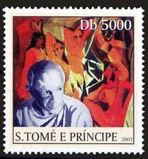 Pablo Picasso, Painter, Spanish painter, sculptor, Sao Tome 2003 MNH