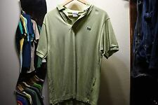 Lacoste Polo Shirt - Size 5 - 100% Authentic - Light Green