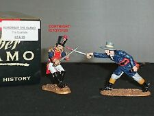 King and Country rta95 ALAMO MEXICAN duellists METAL Toy Soldier Figure Set