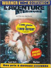 DVD L'AVENTURE INTERIEURE DENNIS QUAID, MARTIN SHORT, MEG RYAN NEUF SCELLE