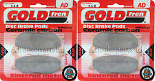YAMAHA XVZ1300 VENTURE STAR 1999 > SINTERED FRONT BRAKE PADS (2 pair) *GOLDFREN*