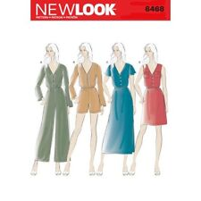 New Look Sewing Pattern 6468 Misses 6-18 Jumpsuit and Dress in Two Lengths