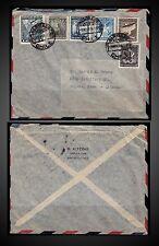 CHILE  3 NOVEMBER 1949 COVER FROM SANTIAGO - CHILE TO REGINA Saskatchewan CANADA