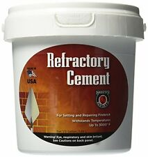 MEECO'S RED DEVIL 610 Refractory Cement, New, Free Shipping