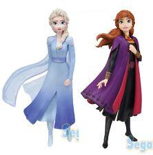 Frozen 2 Premium Figure Elsa Anna Set of 2 SEGA