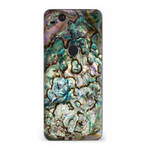Google Pixel 2 Skins Decal Wrap Abalone Shell Gold underwater