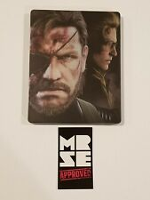 Metal Gear Solid V Collector's Steelbook  / Case ONLY + Bonus Disc *No Game*