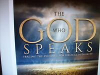 The GOD Who Speaks: Teaching the Evidence for Biblical Authority (AFA) NEW DVD