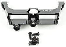 Treal Traxxas TRX-4 Black Aluminum Diff / Transmission Locking Servo Mount