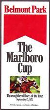 SECRETARIAT & RIVA RIDGE IN MINT 1973 MARLBORO CUP HORSE RACING PROGRAM!
